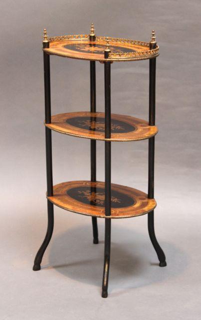 Three Tier Tables/Whatnots U2013 Piers Pisani